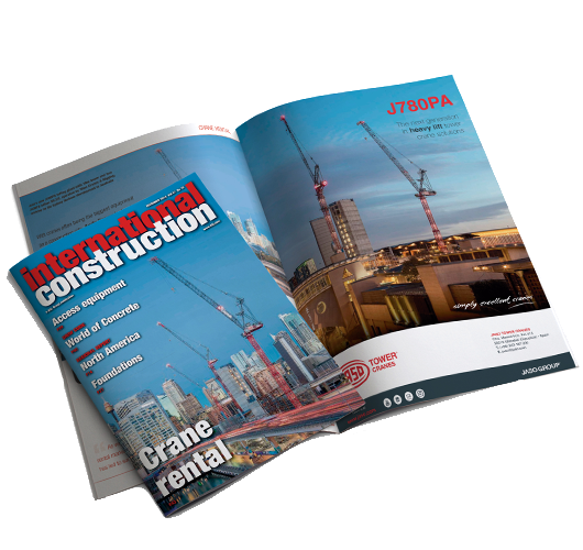 International Construction KHL - JASO Tower Cranes