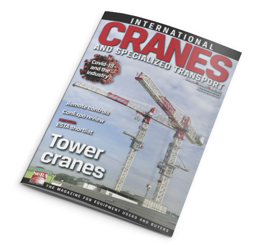 JASO cranes in International Cranes