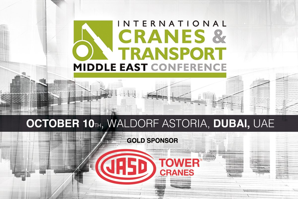 JASO Tower Cranes in Dubai