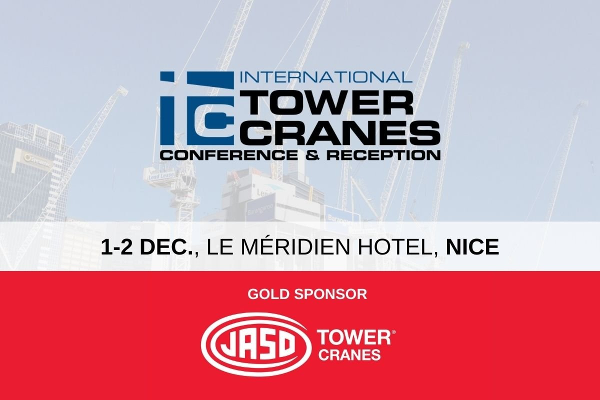 ITC Conference tower cranes