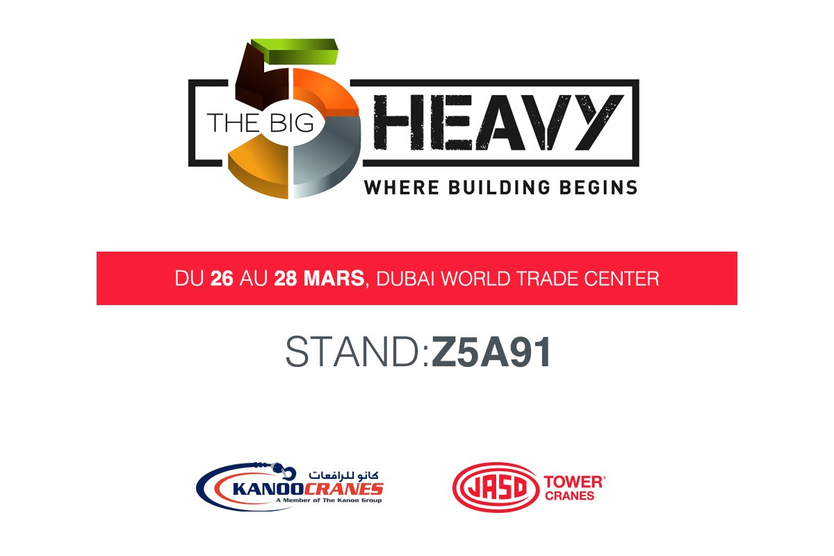 JASO au salon The Big 5 Heavy de Dubaï